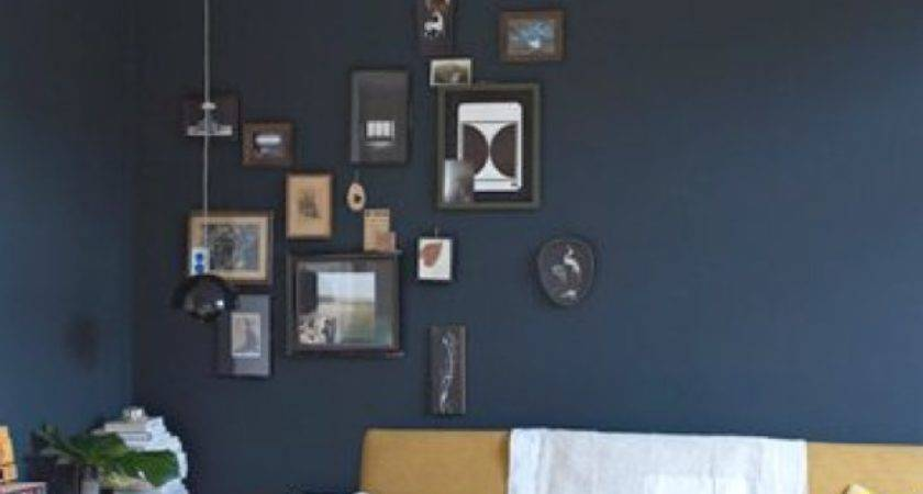 Easy Diy Paint One Blue Wall Trendsurvivor