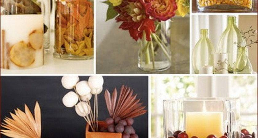 Easy Elegant Thanksgiving Handmade Centerpieces