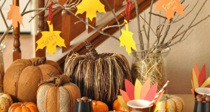Easy Kids Thanksgiving Table Craft Tutorials Creative