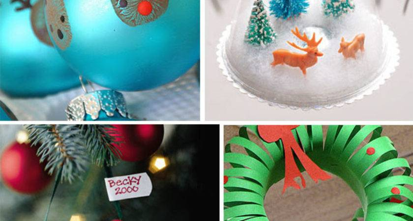 Easy Last Minute Christmas Crafts Celebration Shoppe