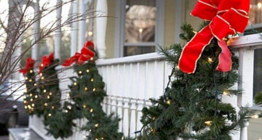 Easy Outdoor Christmas Decorations Ideas Budget