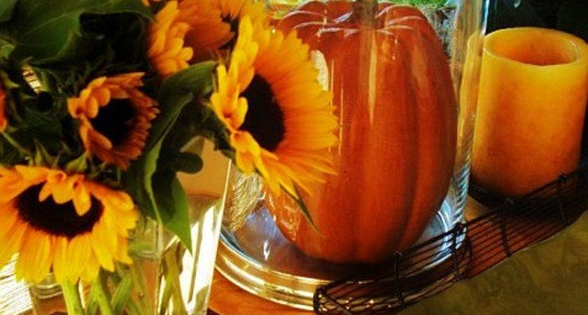 Easy Thanksgiving Table Decoration Ideas Photograph