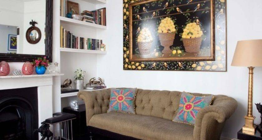 Eclectic Living Room Housetohome