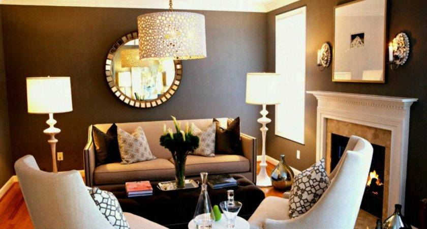 Elegant Modern Living Room Furniture Small Spaces