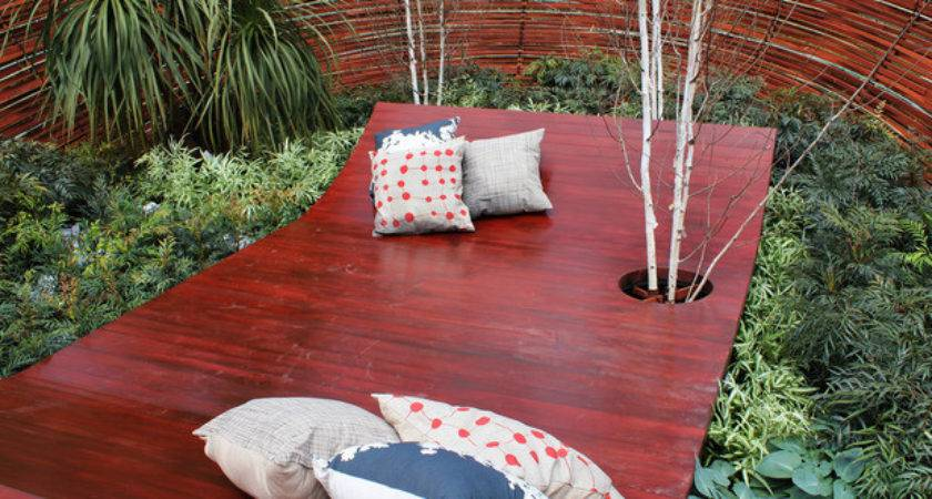 Embassy Outdoor Lounging Spaces