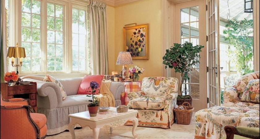 English Country Living Room Design Ideas