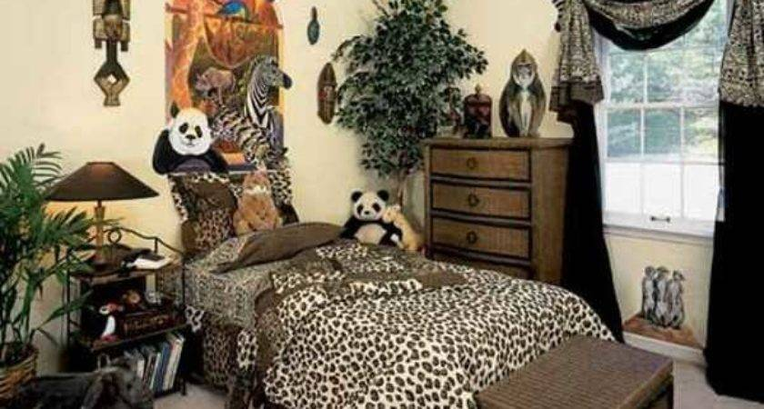 Exotic Trends Home Decorating Bring Animal Prints Into