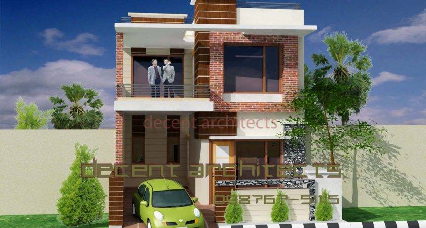 Exterior Indian Home Design House Painting