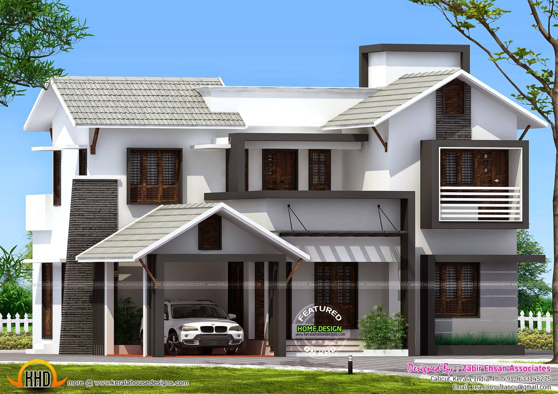 Exterior Paint Color Combinations Homes India - Designs Chaos