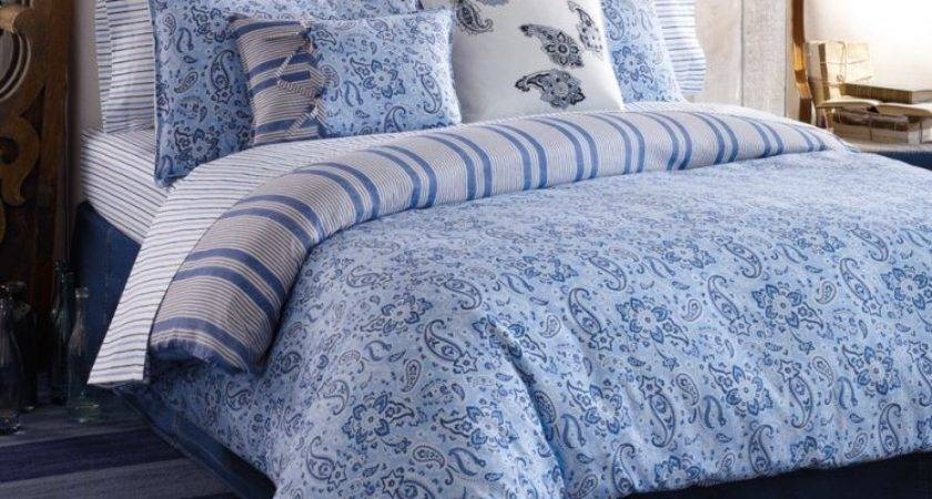 Extraordinary Blue Paisley Bedding Ordinary Bedroom