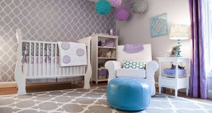 Fabulous Girl Nursery Ideas Without Hint Pink