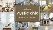 Fabulous Rustic Chic Dining Tables Inspiration Picklee