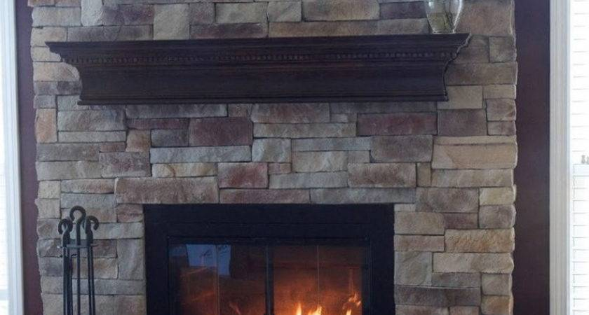Faux Stone Fireplace Lowes Home Design Ideas