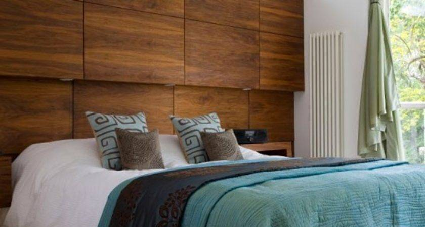 Feature Headboard Modern Bedrooms Housetohome