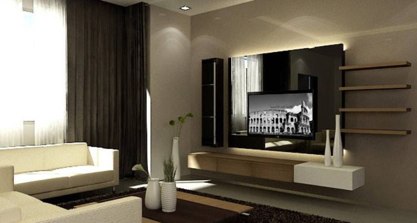 Feature Wall Design Living Room