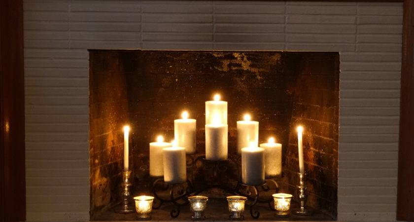 Fireplace Candle Holder Classic