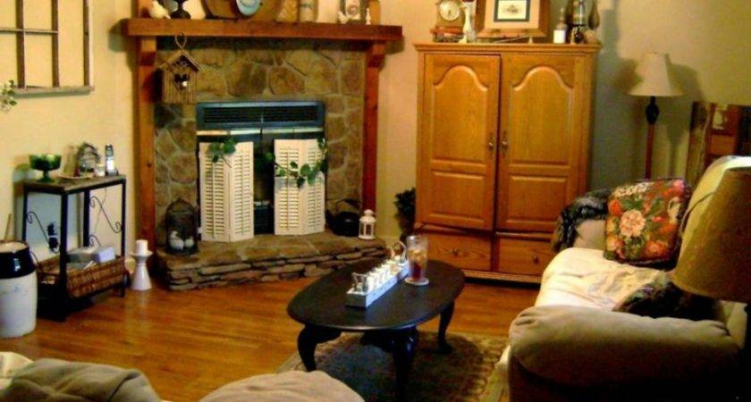 Fireplace Living Room Set Ideas Decorating