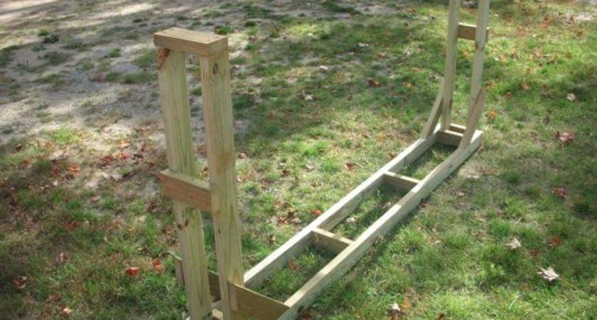 Firewood Rack Plans Build Your Own