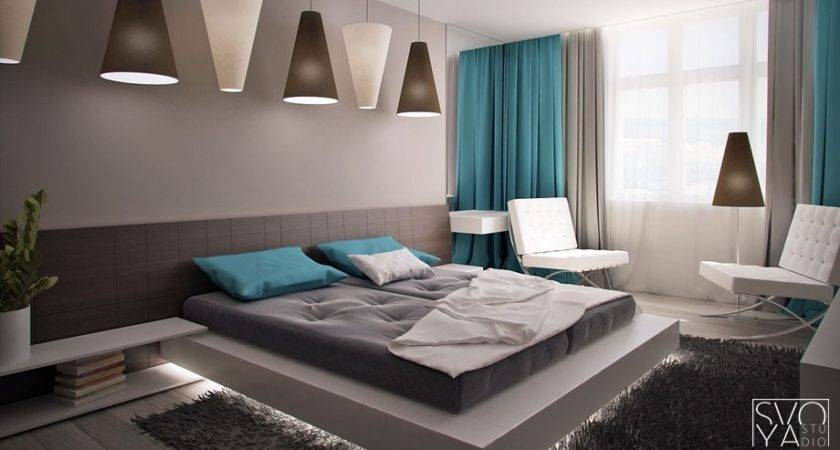 Floating Bed Interior Design Ideas