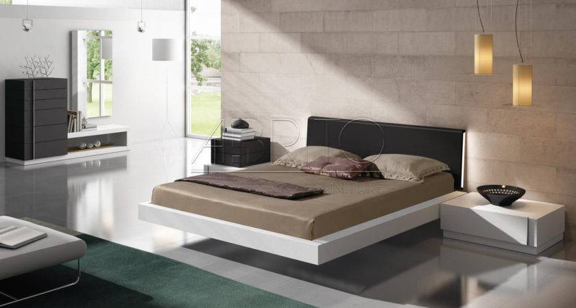 Floating Bed Modern Bedroom Design Ideas