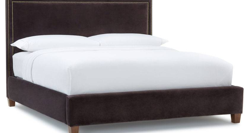 Floating Bed White Purple Comforter