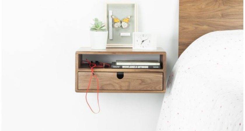 Floating Nightstand Ikea Malm Bookcase Best Living