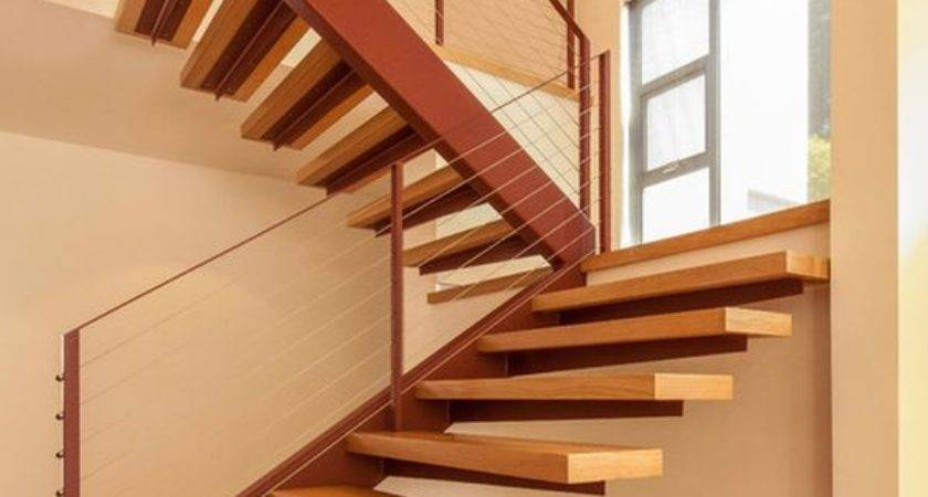 Floating Staircase Ideas Alan Heather Davis