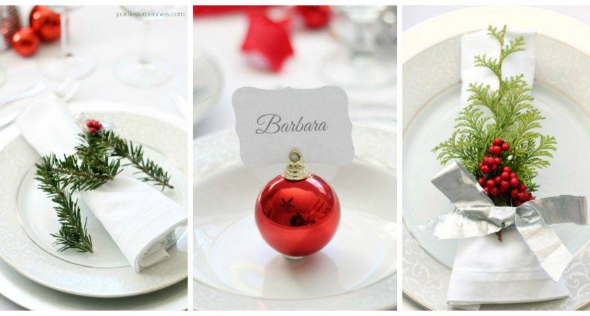 Formal Place Setting Guide Parties Pennies