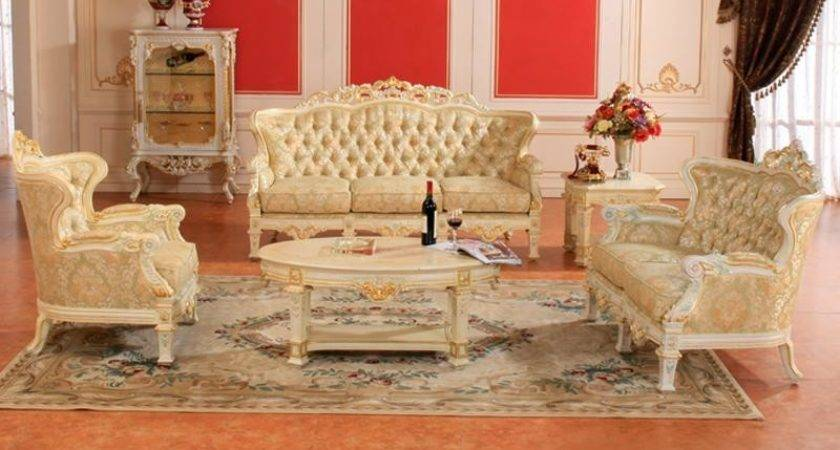 French Chateau Furniture Living Room