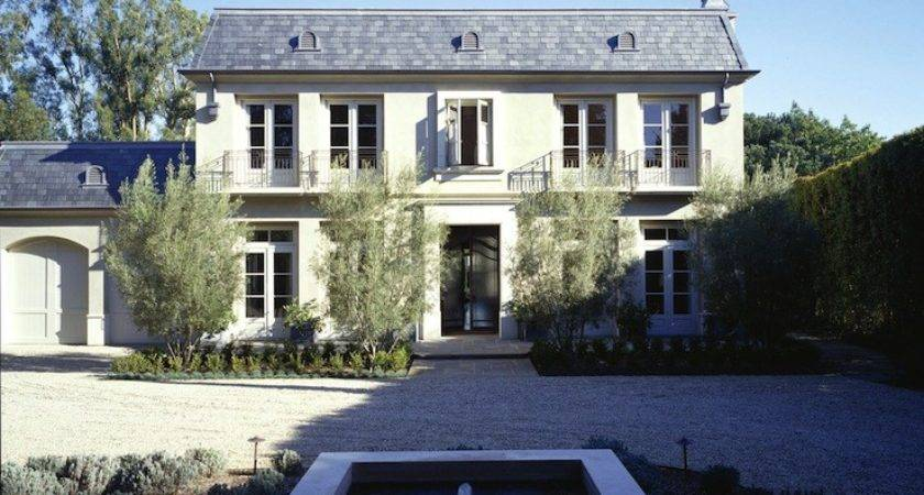 French Chateau Home Exterior Studio William