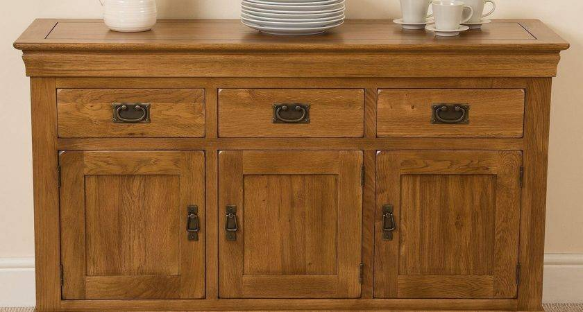 French Chateau Large Oak Sideboard Delivery