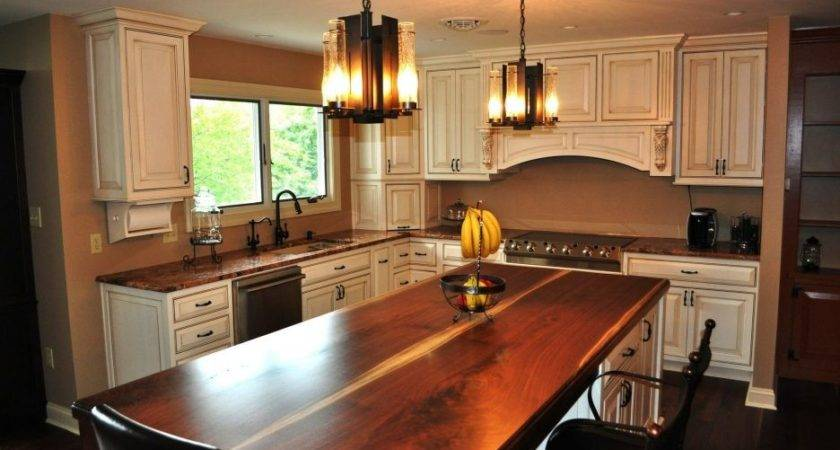 French Country Contemporary Kitchen Normabudden