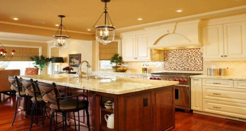 French Country Lighting Ideas Kitchen Island
