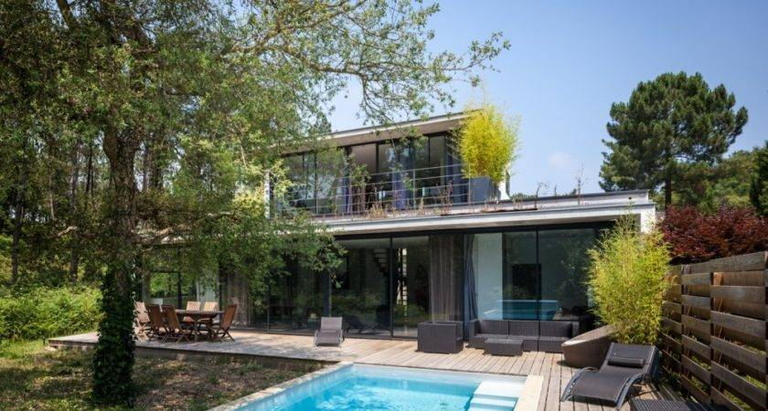 French Delights Gorgeous Modern House Situated