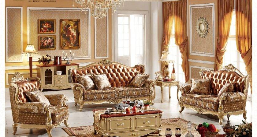 French Style Living Room Sofa Furniture Grain