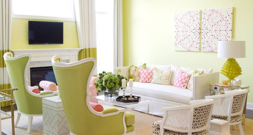 Fresh Lime Colors New Spring Decorating Trend