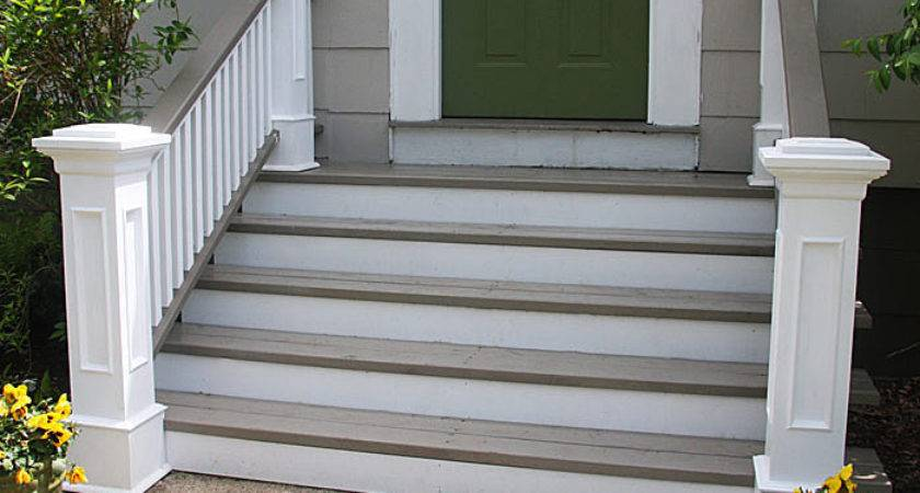 Front Steps Railings Newel Posts Edgewater Woodwork