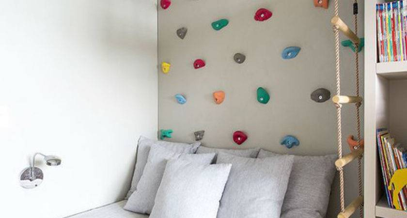 Fun Climbing Wall Ideas Your Kids Safety Home