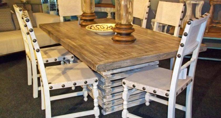 Funky Dining Room Set Kitchen Table Top Our Vintage Home