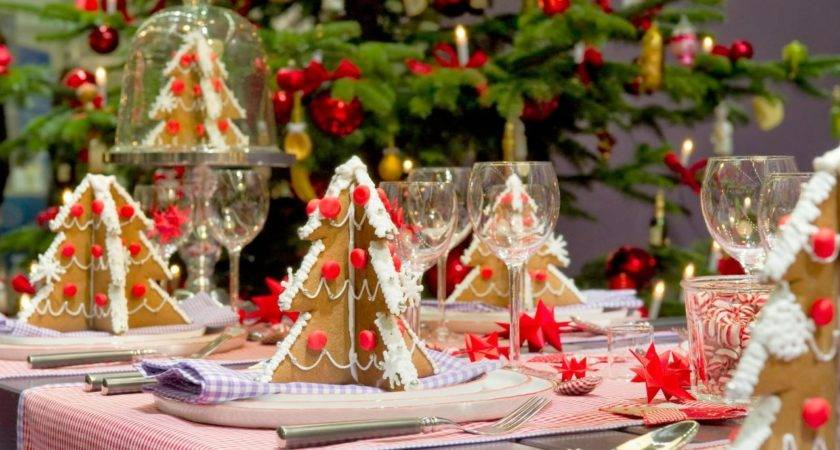Furniture Design Christmas Decorations Table