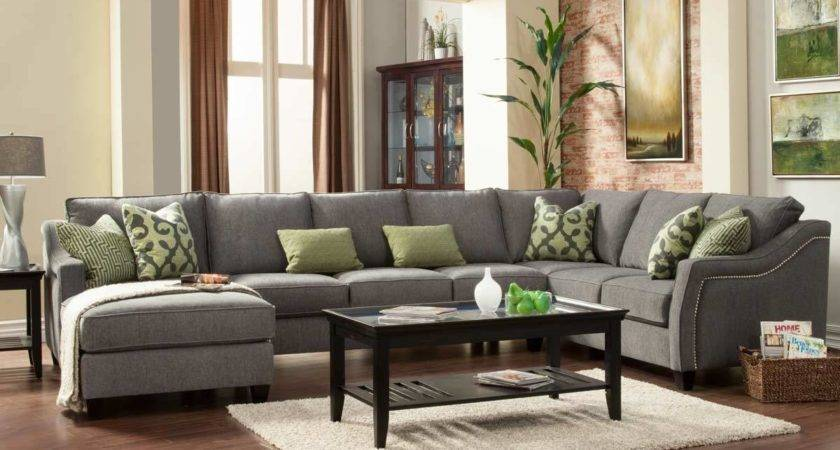 Furniture Grey Sectional Couches Design