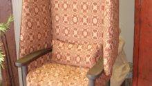 Gatherings Home Primitive Wingback Make Chair