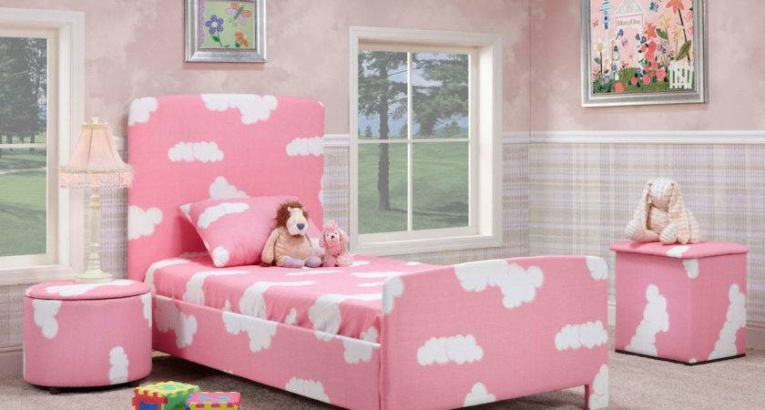 Girls Pink Blue Bedroom Decobizz