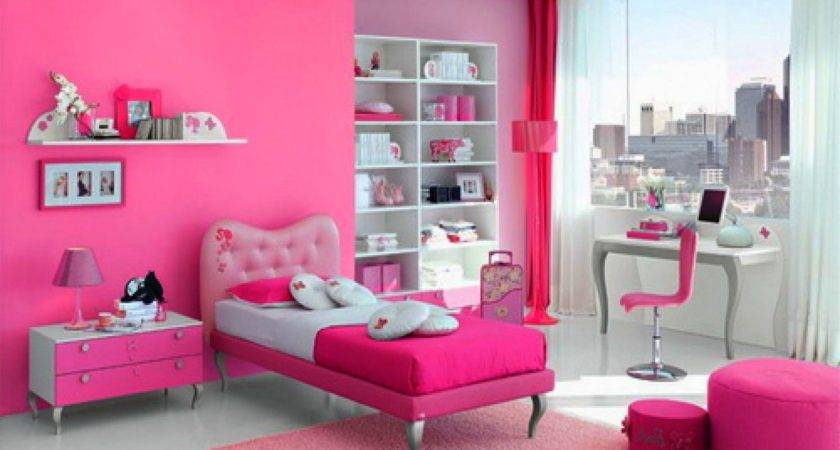 Girly Decorations Bedrooms
