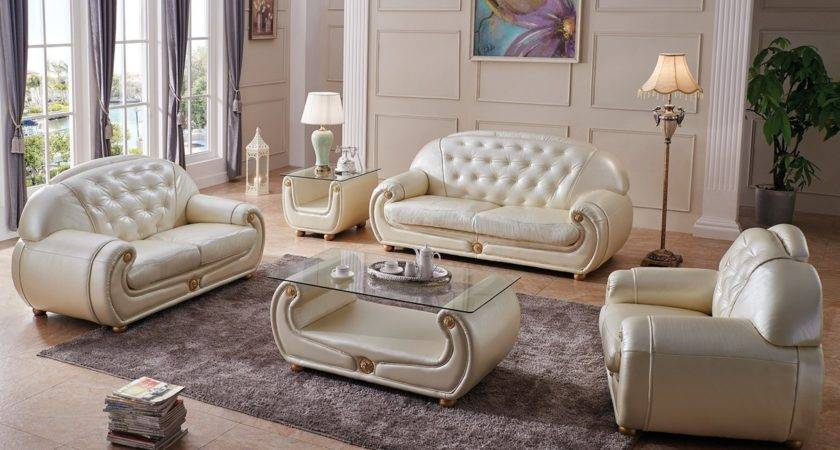 Giza Living Room Set Beige Shipping Get Furniture