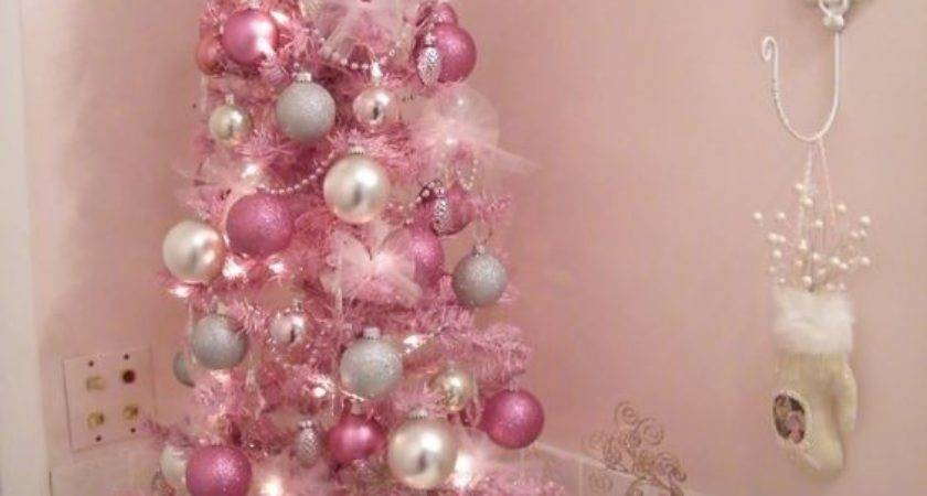 Glam Pink Christmas Cor Ideas Shelterness