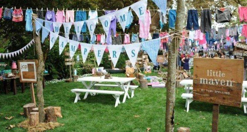 Glammed Camping Inspires Kitschy Launch Tori