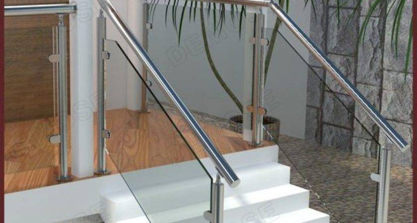 Glass Stair Balusters Railing Fittings