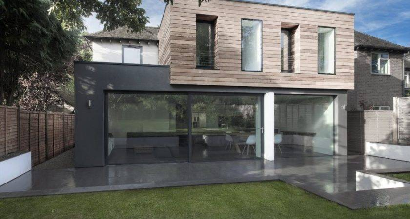 Glass Timber Addition Hampshire House
