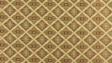 Gold Brown Ivory Embroidered Diamond Brocade